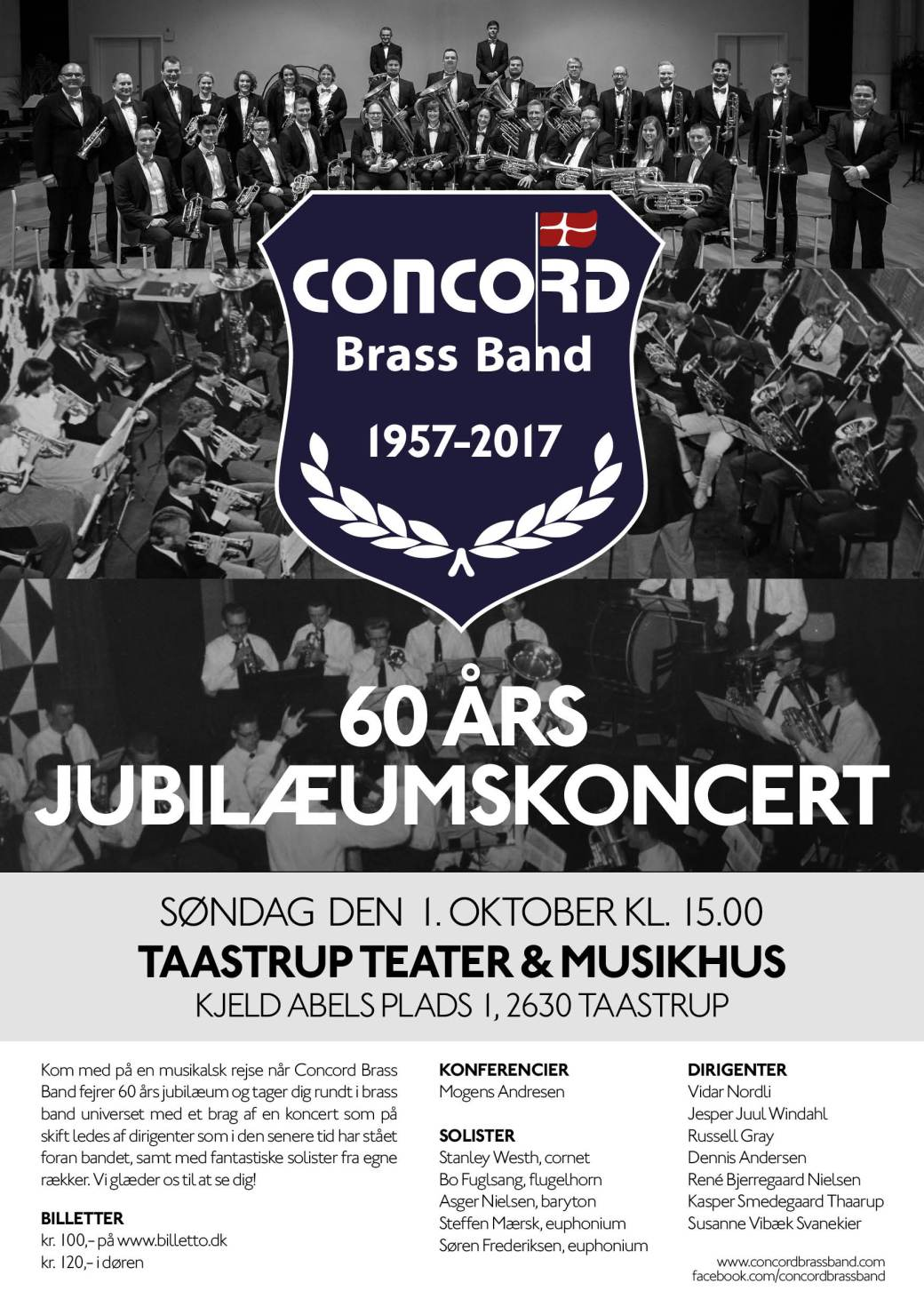 Concord Brass Band - Plakat - web 3
