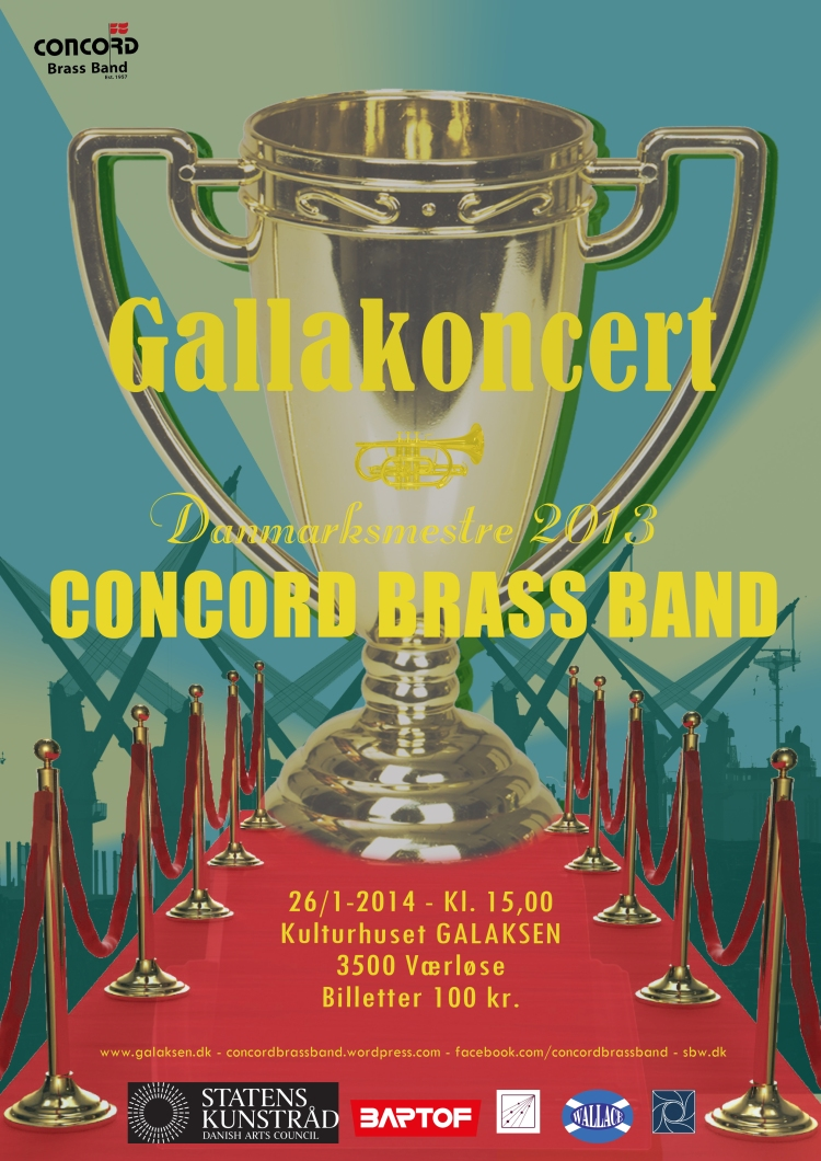 Gallakoncert med Concord Brass Band