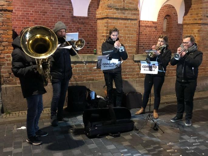 CBB - Julemusik på strøget 8 dec 2017